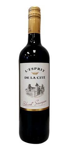 """L'ESPRIT DE LA CITE  """"Cabernet Sauvignon"""