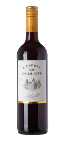 """L'ESPRIT DE LA CITE  """"Merlot"""""""